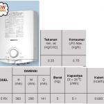 Water Heater Paloma PH-5RX, PH-16 SX