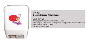 Water Heater GH-12T