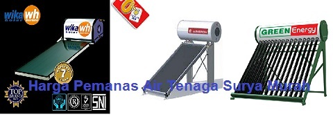 Nama Solar Water Heater di Indonesia