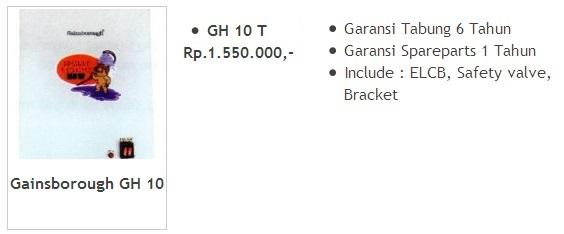 Gainsborough GH 10 T